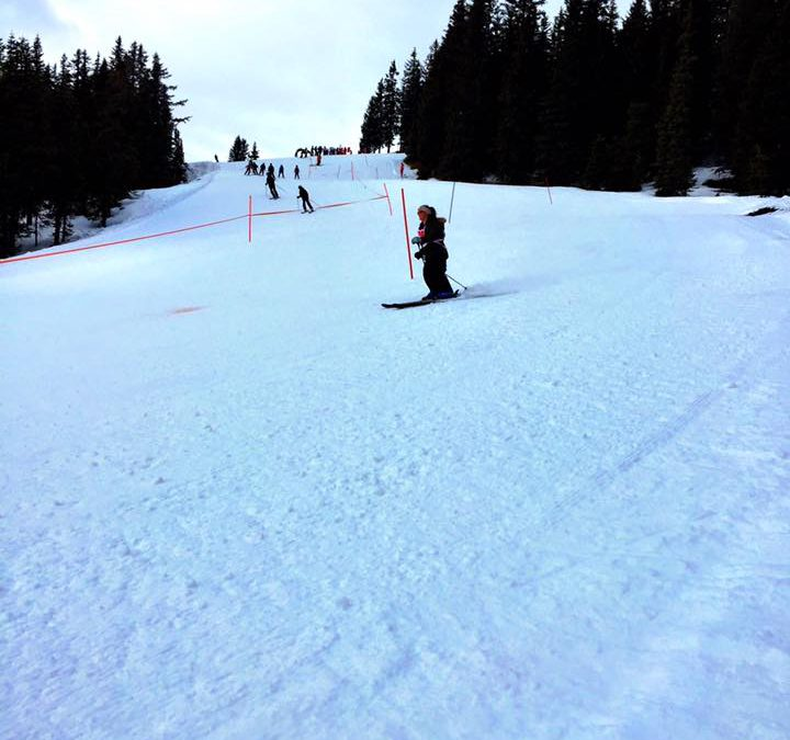 """Going for the Medal"" at the FCAP Ski Adventure…"