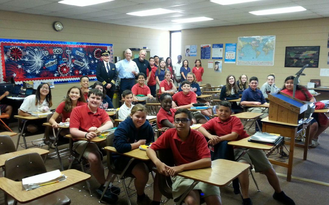 Speaking Opportunity at Christian School