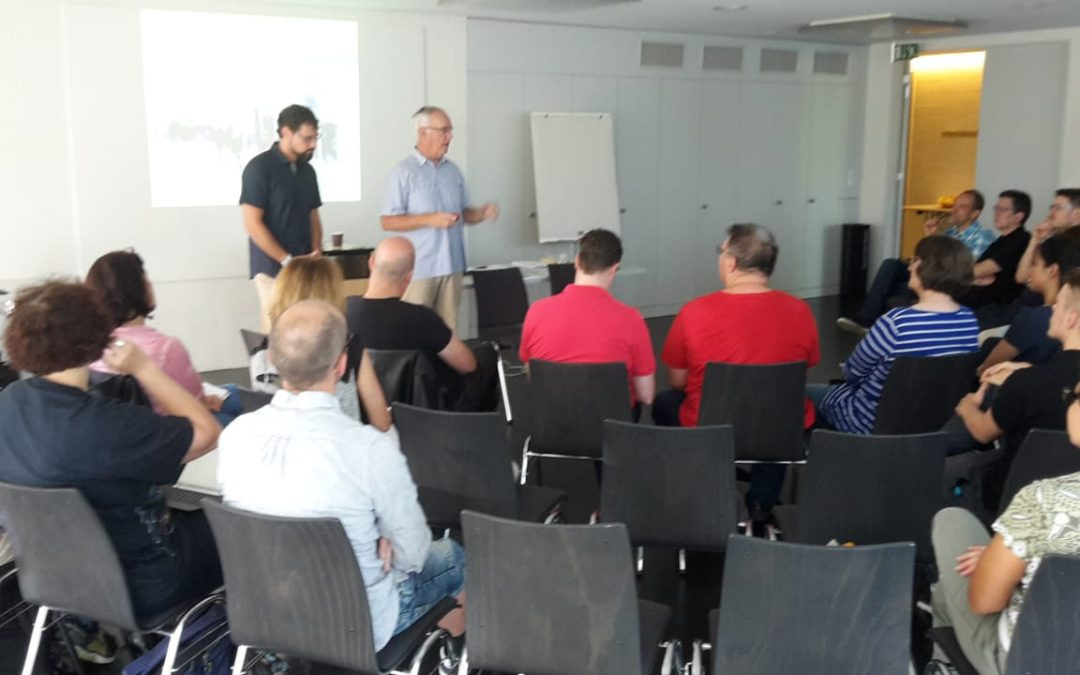 Workplace Training Presented at Swiss Church