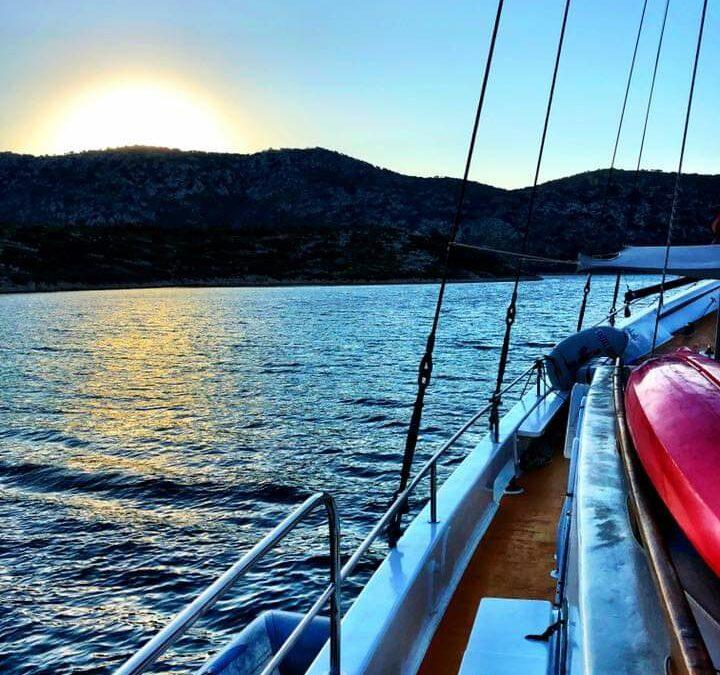 Enjoying a New Day on the Greek Sailaway