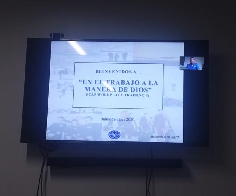 "Launching of ""On the Job…God's Way"" Seminar in Spanish Over Zoom"